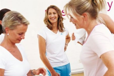 Frauensportclubkette