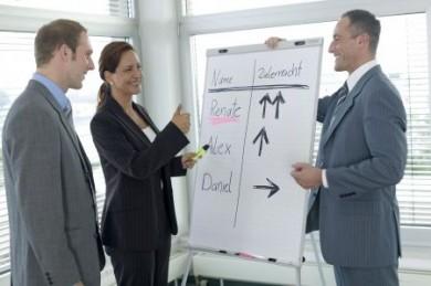 Vermögensberaterinnen können sich ihre Arbeitszeiten frei einteilen. (Foto: djd/Deutsche Vermögensberatung)