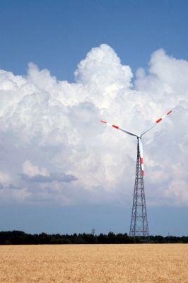 Am Boom der Windkraft kann man sich auch als Privatanleger beteiligen.