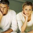 Ehepaar mit Sorgen