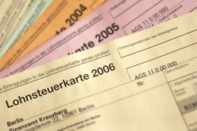 Lohnsteuerkarte entfällt