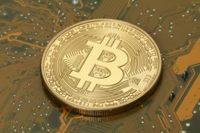 bitcoin-muenze